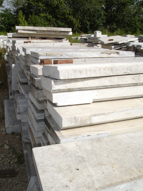 Reclaimed Marble Slabs