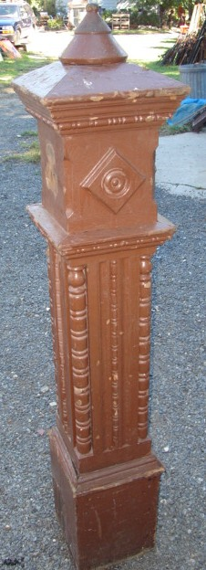 Decorative Newel Post Recycling The Past Architectural