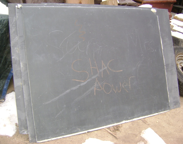 vintage chalkboard slate recycling the past architectural salvage. Black Bedroom Furniture Sets. Home Design Ideas