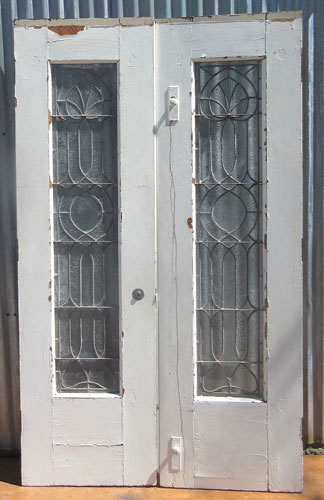 Victorian Style Double Doors Recycling The Past