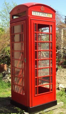 English Phone Booth Recycling The Past Architectural