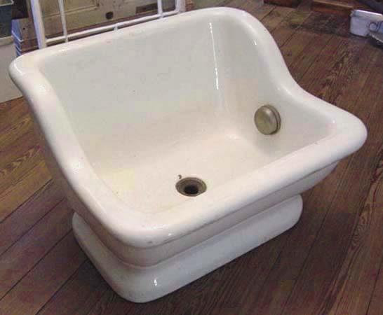 Solid Porcelain Sitz Bath Recycling The Past