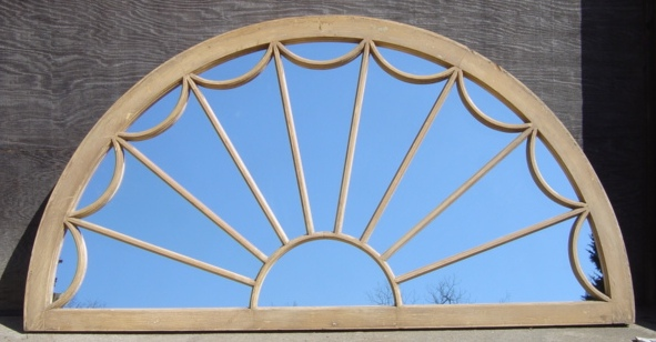 Spiderweb Transom Mirror Recycling The Past