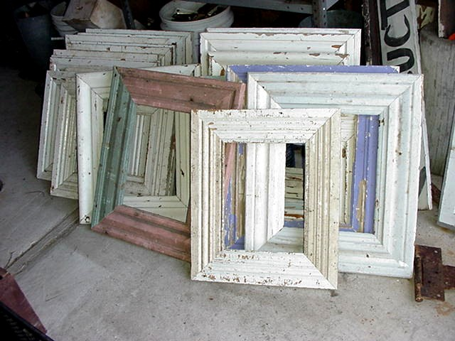 Wood Molding Frames Recycling The Past Architectural Salvage