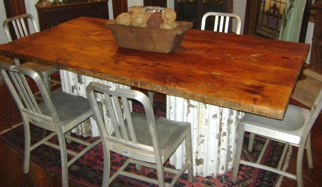 Dining Tables Recycling The Past Architectural Salvage