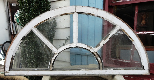 Vintage Half Round Window Recycling The Past