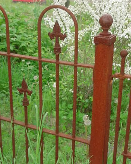 Reproduction Gates And Fencing Recycling The Past