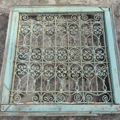 Decorative Panels - Wrought Iron Recycling The Past - Architectural Salvage
